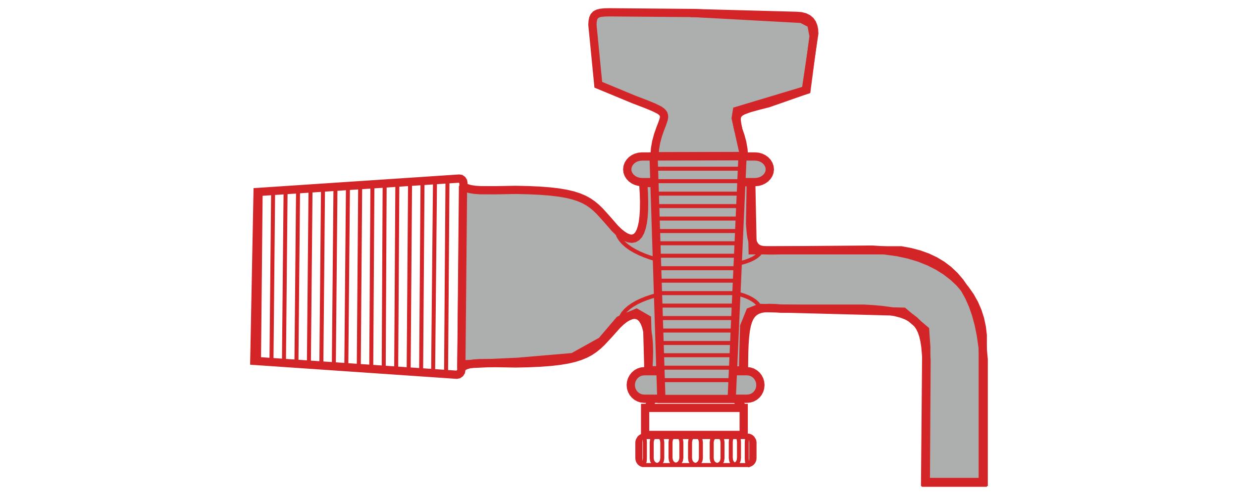 5. Winzer Laborglastechnik_braune Glasgeräte_Abklärflaschenhähne