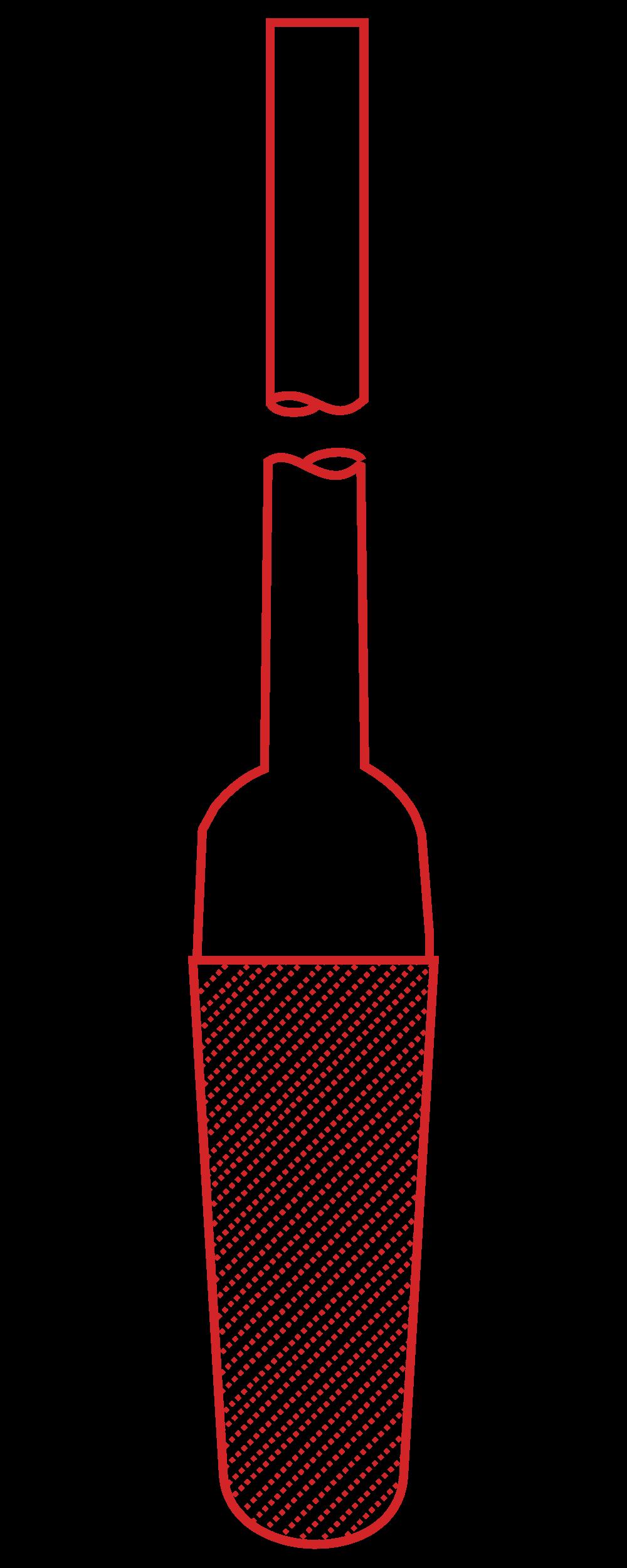 2. Winzer Laborglastechnik_Bauteile_Filterkerze mit Rohr